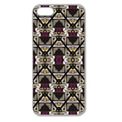 Abstract Geometric Modern Seamless Pattern Apple Seamless Iphone 5 Case (clear) by dflcprints
