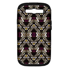 Abstract Geometric Modern Seamless Pattern Samsung Galaxy S Iii Hardshell Case (pc+silicone) by dflcprints