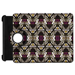 Abstract Geometric Modern Seamless Pattern Kindle Fire Hd Flip 360 Case by dflcprints