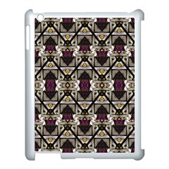 Abstract Geometric Modern Seamless Pattern Apple Ipad 3/4 Case (white) by dflcprints
