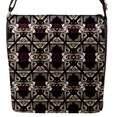 Abstract Geometric Modern Seamless Pattern Flap Closure Messenger Bag (small) by dflcprints