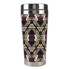 Abstract Geometric Modern Seamless Pattern Stainless Steel Travel Tumbler by dflcprints