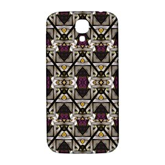 Abstract Geometric Modern Seamless Pattern Samsung Galaxy S4 I9500/i9505  Hardshell Back Case by dflcprints