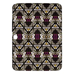 Abstract Geometric Modern Seamless Pattern Samsung Galaxy Tab 3 (10 1 ) P5200 Hardshell Case  by dflcprints