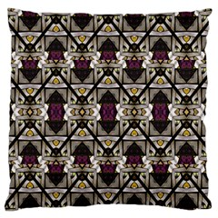 Abstract Geometric Modern Seamless Pattern Standard Flano Cushion Case (two Sides) by dflcprints