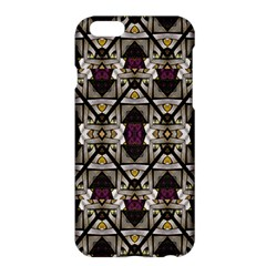 Abstract Geometric Modern Seamless Pattern Apple Iphone 6 Plus Hardshell Case by dflcprints