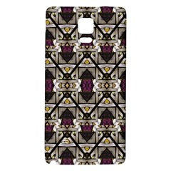 Abstract Geometric Modern Seamless Pattern Samsung Note 4 Hardshell Back Case by dflcprints