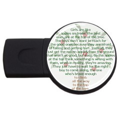 Appletree 4gb Usb Flash Drive (round) by TheWowFactor