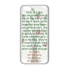 Appletree Apple Iphone 5c Seamless Case (white) by TheWowFactor
