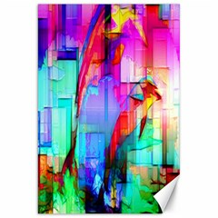 Tim Henderson Dolphins Canvas 20  X 30  (unframed) by TheWowFactor
