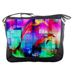 Tim Henderson Dolphins Messenger Bag by TheWowFactor