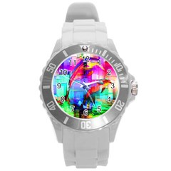 Tim Henderson Dolphins Plastic Sport Watch (large) by TheWowFactor