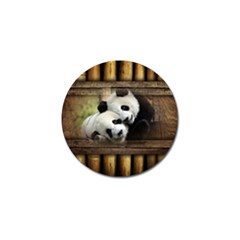 Panda Love Golf Ball Marker 10 Pack by TheWowFactor