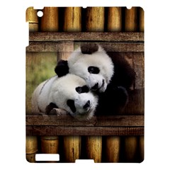 Panda Love Apple Ipad 3/4 Hardshell Case by TheWowFactor