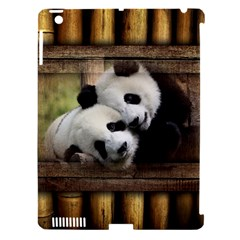 Panda Love Apple Ipad 3/4 Hardshell Case (compatible With Smart Cover) by TheWowFactor