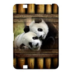 Panda Love Kindle Fire Hd 8 9  Hardshell Case by TheWowFactor