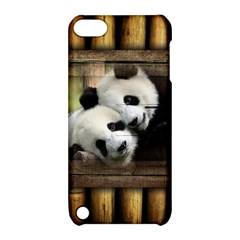Panda Love Apple Ipod Touch 5 Hardshell Case With Stand by TheWowFactor