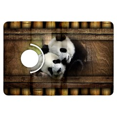 Panda Love Kindle Fire Hdx Flip 360 Case by TheWowFactor