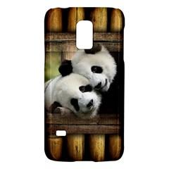 Panda Love Samsung Galaxy S5 Mini Hardshell Case  by TheWowFactor