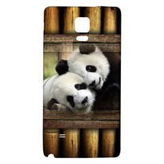 Panda Love Samsung Note 4 Hardshell Back Case by TheWowFactor