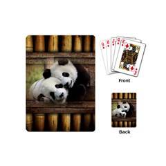 Panda Love Playing Cards (mini) by TheWowFactor