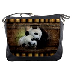 Panda Love Messenger Bag by TheWowFactor