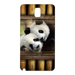 Panda Love Samsung Galaxy Note 3 N9005 Hardshell Back Case by TheWowFactor