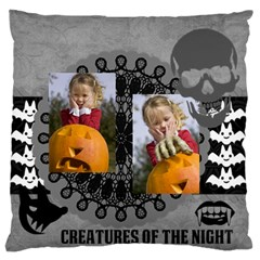 Halloween By Helloween   Large Flano Cushion Case (two Sides)   6w7p1eq4hitg   Www Artscow Com Back