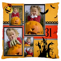 Halloween By Helloween   Large Flano Cushion Case (two Sides)   Zcru4ab6jjcn   Www Artscow Com Front