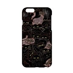 Black Cats Yellow Eyes Apple Iphone 6 Hardshell Case