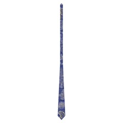 Hopewell White On Byu Blue By Jonathan Neville   Necktie (two Side)   Pkntjrneewgg   Www Artscow Com Front