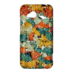 Paint strokes in retro colors HTC Droid Incredible 4G LTE Hardshell Case by LalyLauraFLM