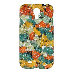 Paint Strokes In Retro Colors Samsung Galaxy S4 I9500/i9505 Hardshell Case by LalyLauraFLM