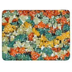 Paint Strokes In Retro Colors Samsung Galaxy Tab 7  P1000 Flip Case by LalyLauraFLM