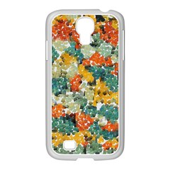 Paint Strokes In Retro Colors Samsung Galaxy S4 I9500/ I9505 Case (white)