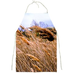 Blowing Prairie Grass Apron by bloomingvinedesign