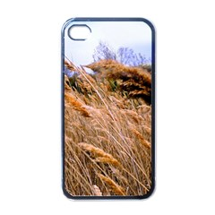 Blowing Prairie Grass Apple Iphone 4 Case (black) by bloomingvinedesign