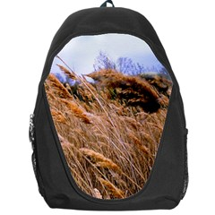 Blowing Prairie Grass Backpack Bag by bloomingvinedesign