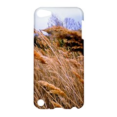 Blowing Prairie Grass Apple Ipod Touch 5 Hardshell Case by bloomingvinedesign