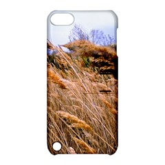 Blowing Prairie Grass Apple Ipod Touch 5 Hardshell Case With Stand by bloomingvinedesign