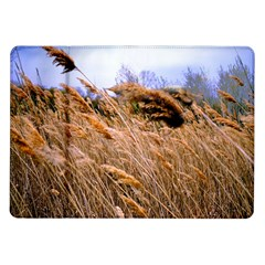 Blowing Prairie Grass Samsung Galaxy Tab 10 1  P7500 Flip Case by bloomingvinedesign