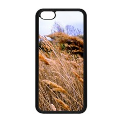 Blowing Prairie Grass Apple Iphone 5c Seamless Case (black) by bloomingvinedesign