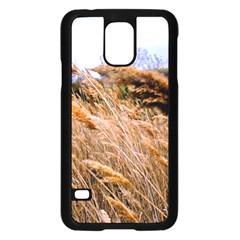 Blowing Prairie Grass Samsung Galaxy S5 Case (black) by bloomingvinedesign