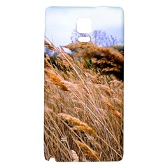 Blowing Prairie Grass Samsung Note 4 Hardshell Back Case by bloomingvinedesign
