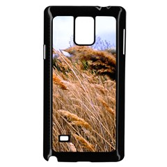 Blowing Prairie Grass Samsung Galaxy Note 4 Case (black) by bloomingvinedesign