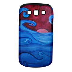 Blown Ocean Waves Samsung Galaxy S Iii Classic Hardshell Case (pc+silicone) by bloomingvinedesign