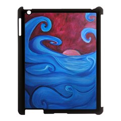 Blown Ocean Waves Apple Ipad 3/4 Case (black)