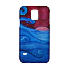 Blown Ocean Waves Samsung Galaxy S5 Hardshell Case