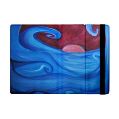 Blown Ocean Waves Apple Ipad Mini 2 Flip Case by bloomingvinedesign