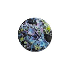 Blue And Purple Hydrangea Group Golf Ball Marker 4 Pack by bloomingvinedesign